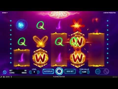 Sparks Slot - NetEnt Promo