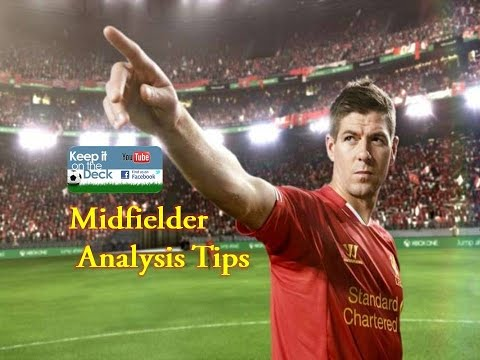 Soccer Midfielder Analysis Tips - Support play from wide areas