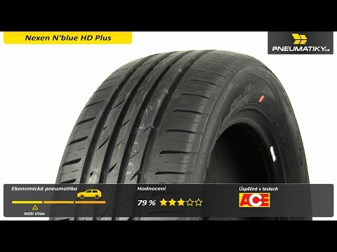 Youtube Nexen N'blue HD Plus 205/50 R16 87 H Letní