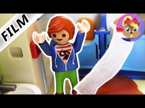 Playmobil film Nederlands | POEPOVERSTROMING op het KINDERDAGVERBLIJF | JULIAN VERSTOPT DE WC