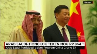 Raja Salman di Cina, Arab Saudi Teken MOU Rp 864 Triliun