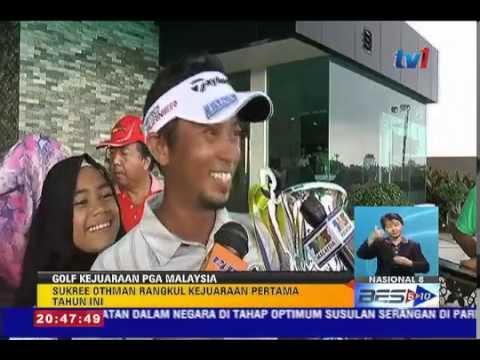 GOLF PGA MALAYSIA: SUKREE OTHMAN JUARA [15 NOV 2015]