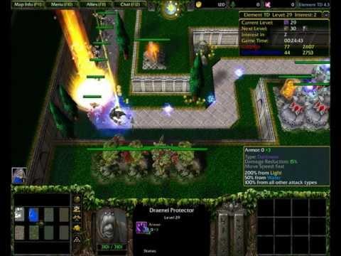 Warcraft 3 Elemental Tower Defense