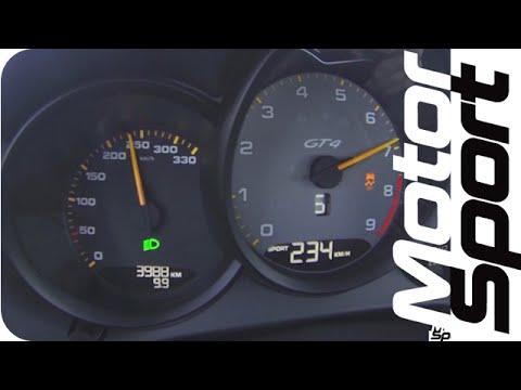 Brutális, ahogy 0-ról 250-re gyorsít ez a Porsche Cayman GT4