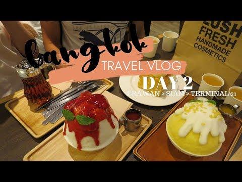 Bangkok, Thailand travel vlog - DAY 2 (Erawan, Gaysorn, 7 Eleven, Siam Paragon, Siam & Terminal 21)