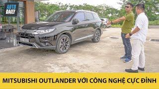 Đây là chiếc Mitsubishi Outlander đỉnh nhất thế giới về công nghệ do bàn tay người Việt tạo nên