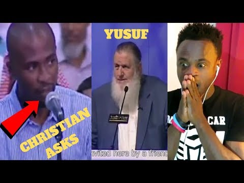 Christian's Reaction To - christian bursted in tears after Yusuf Estes answered his question!