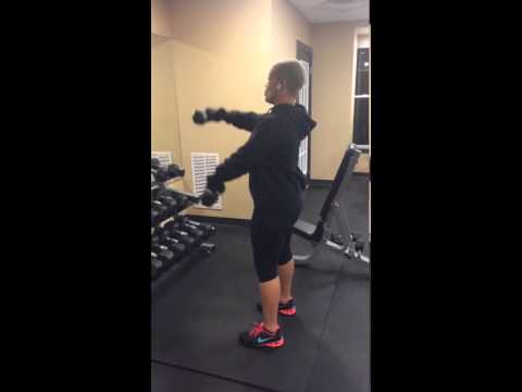 Tips on back, legs/glutes, shoulders, chest and cardio