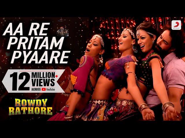 Download Aa Re Pritam Pyaare Full Video Song Rowdy Rathore ...