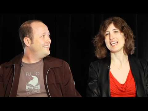 "Jay Asher and Carolyn Mackler discuss ""The Future of Us"""