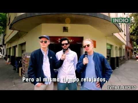INDIO TV: Comiendo tacos con Kakkmaddafakka
