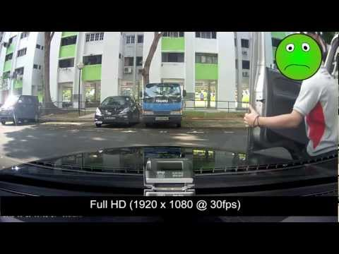 Hit and Run at car park was recorded clearly with BlackVue.