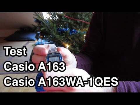 Test Casio A163 | Casio A163WA-1QES | Casio Collection | Armbanduhr Test