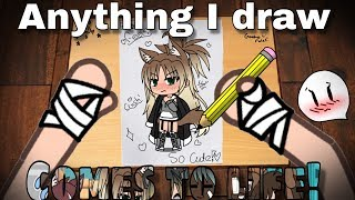 Video Anything I draw comes to life!| GLMM MP3, 3GP, MP4, WEBM, AVI, FLV Agustus 2019