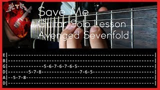 Watch the performance: https://www.youtube.com/watch?v=MaVL6Ka6fIMFacebook: http://www.facebook.com/rockerthemetalInstagram: https://www.instagram.com/rockerthemetalAsk for a lesson: https://www.patreon.com/user?u=2894674Tuning: D A D G B ESong: Save Me - Band: Avenged Sevenfold.Equipment:-Ibanez S 920-Reaper-IK Amplitube 4-Amplifier Roland Cube 30x-Digitech Rp350-Audacity-Samsung HMX-H200 Full HDThank you for watching this video!Subscribe!