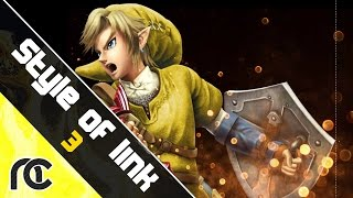 Smash 4 Link Guide : Style of Link 3