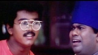Vijay, Senthil Comedy - Vishnu Tamil Movie Scene - Breaking And Entering