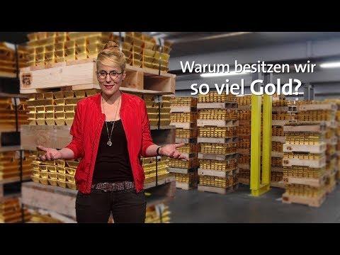 Warum besitzt Deutschland so viel Gold?
