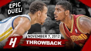 The Game Stephen Curry Met Kyrie Irving For The FIRST TIME EVER 2012.11.07 - EPIC PG Duel