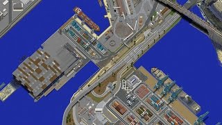 GTA 5 in Minecraft #38   NEW railroads, Details, Looking for more builders!