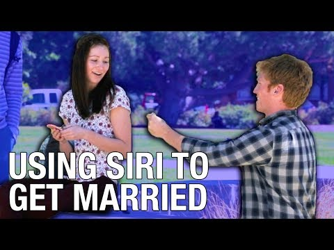 Usign Siri to get married