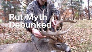 Rut Hunting Myth Debunked