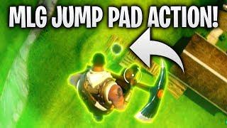 MLG JUMP PAD ACTION 🏆 | Fortnite: Battle Royale