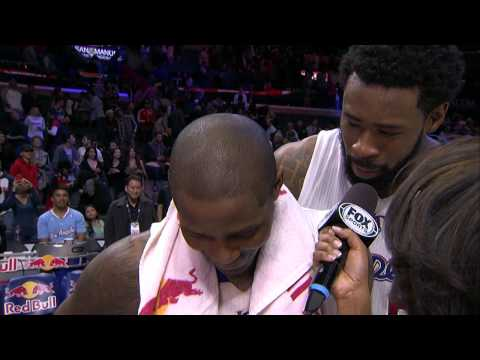 Video: DeAndre Jordan Sings to Jamal Crawford in Interview Bomb