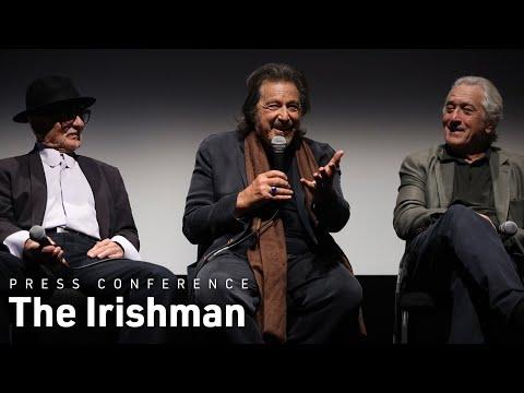 Martin Scorsese, Robert De Niro, Al Pacino & Joe Pesci on The Irishman   NYFF57