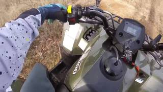 7. KingQuad 400 mud machine?!?