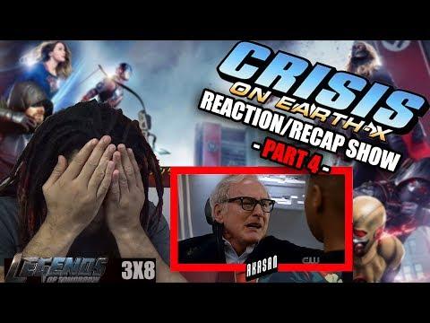 CRISIS ON EARTH-X PART FOUR (LEGENDS OF TOMORROW SEASON 3 EPISODE 8) REACTION & RECAP SHOW!!!