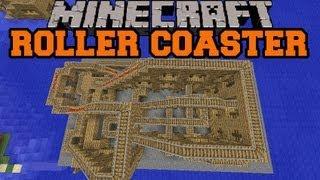 Minecraft: Instant Roller Coaster Mod - Mod Showcase