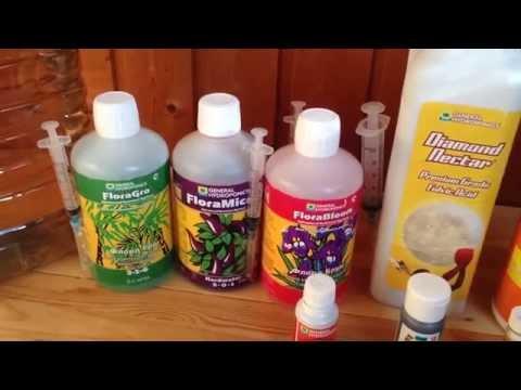 Питательный раствор для подкормки растений
