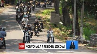 Video Begini Gaya Presiden Jokowi Pimpin Bikers ke Pelabuhan Ratu MP3, 3GP, MP4, WEBM, AVI, FLV April 2019