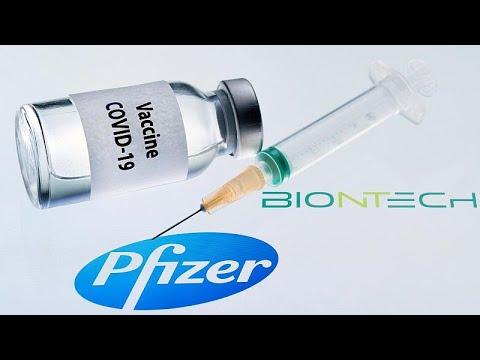 Το εμβόλιο της Pfizer/BioNTech έλαβε έγκριση για χρήση στη Βρετανία …