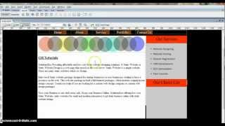CSS Website Tutorials 4  How To Create Container, Left Container, Right Container