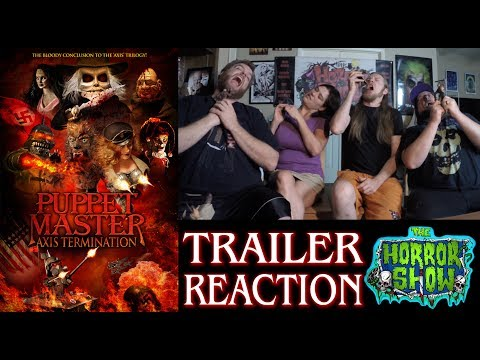 """""""Puppet Master: Axis Termination"""" 2017 Full Trailer #1 Reaction - The Horror Show"""