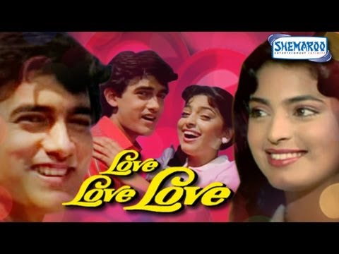Love Love Love Hindi Full Movie - Aamir Khan - Juhi Chawla - Gulshan Grover - 80's Hit Movie