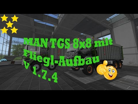 MAN TGS with Fliegl extension v1.7.4