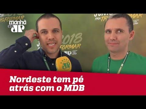 Nordeste tem pé atrás com o MDB | Felipe Moura Brasil (видео)