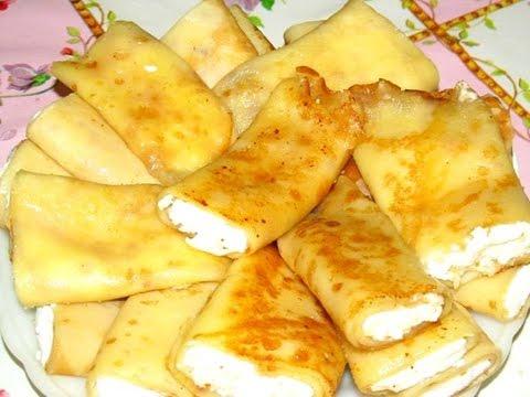 Налистники с мясом рецепт с фото пошагово