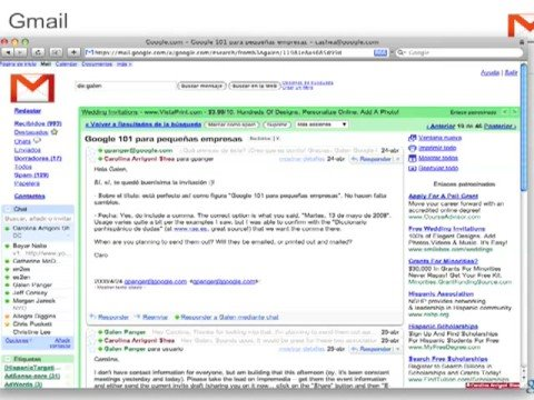 google 101 - http://www.google.com/sunegociocrece (Spanish) http://www.google.com/growyourbusiness (English) Video in Spanish with introductory words in English. In May 2...
