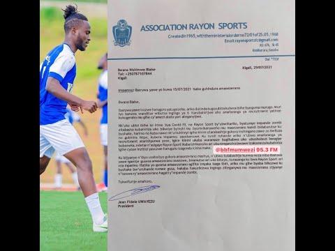 #SPORTSPLATEAU: RAYON SPORTS N'UMUKINNYI WAYO BLAISE MU MAYIRA ABIRI. TRANSFER NEWS