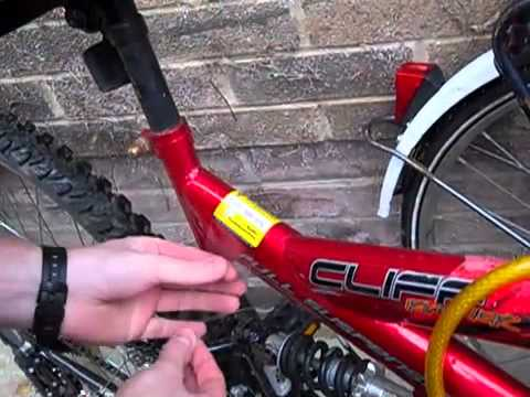 Protect your bicycle with free postcode marking