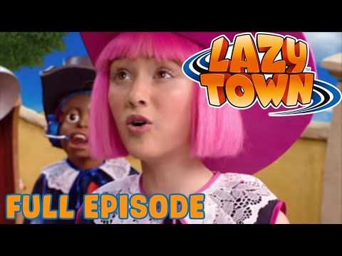 Prince Stingy   Lazy Town   Full Episode