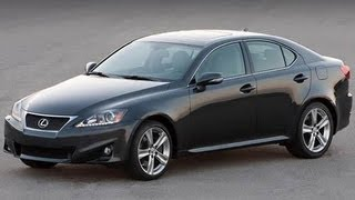 2012 Lexus IS 250 Start Up And Review V-6