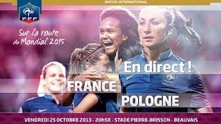 Poligne France  city photo : Le replay de France - Pologne Féminine A (6-0)