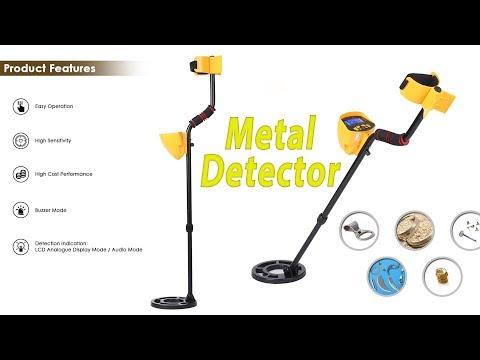 High Sensitivity High Performance Metal Detector Treasures Seeking Tool