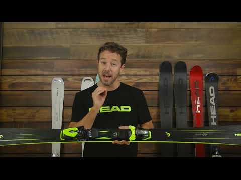 Head Super Joy with SLR11 System Skis - Women's