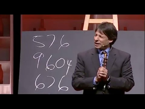 Faster Than A Calculator | Arthur Benjamin | Tedxoxford